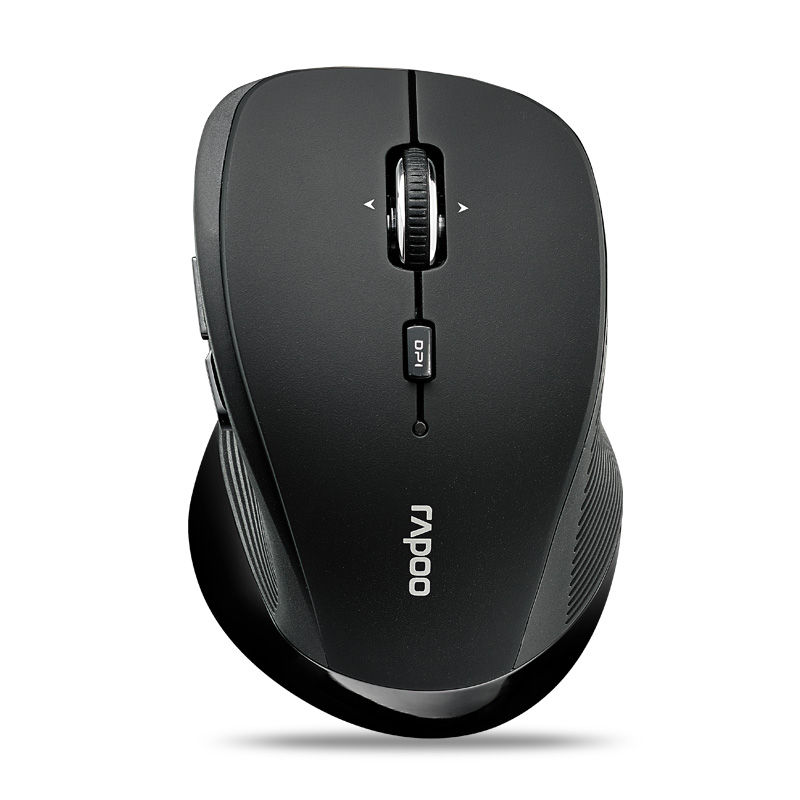 100% Genuine genuine 3900P Rapoo wireless laser mouse wireless mouse 5.8GHZ 1600dpi built-in receiver storage compartment(China (Mainland))