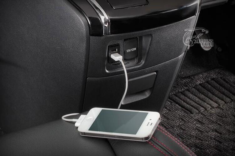 12v 1 2a 2 1a Car Styling Original Position Dual Usb Port Socket Charger For Nissan Qashqai