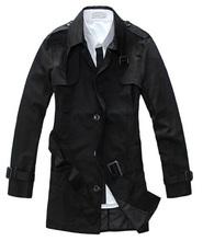 New Fashion Man long Jacket  male cotton single-breasted  coat  winter coat  201208127(China (Mainland))