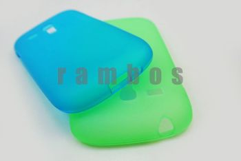 100pcs/lot TPU Cell Phone Protector Case Cover for Samsung Galaxy S3 Mini i8190 free shipping