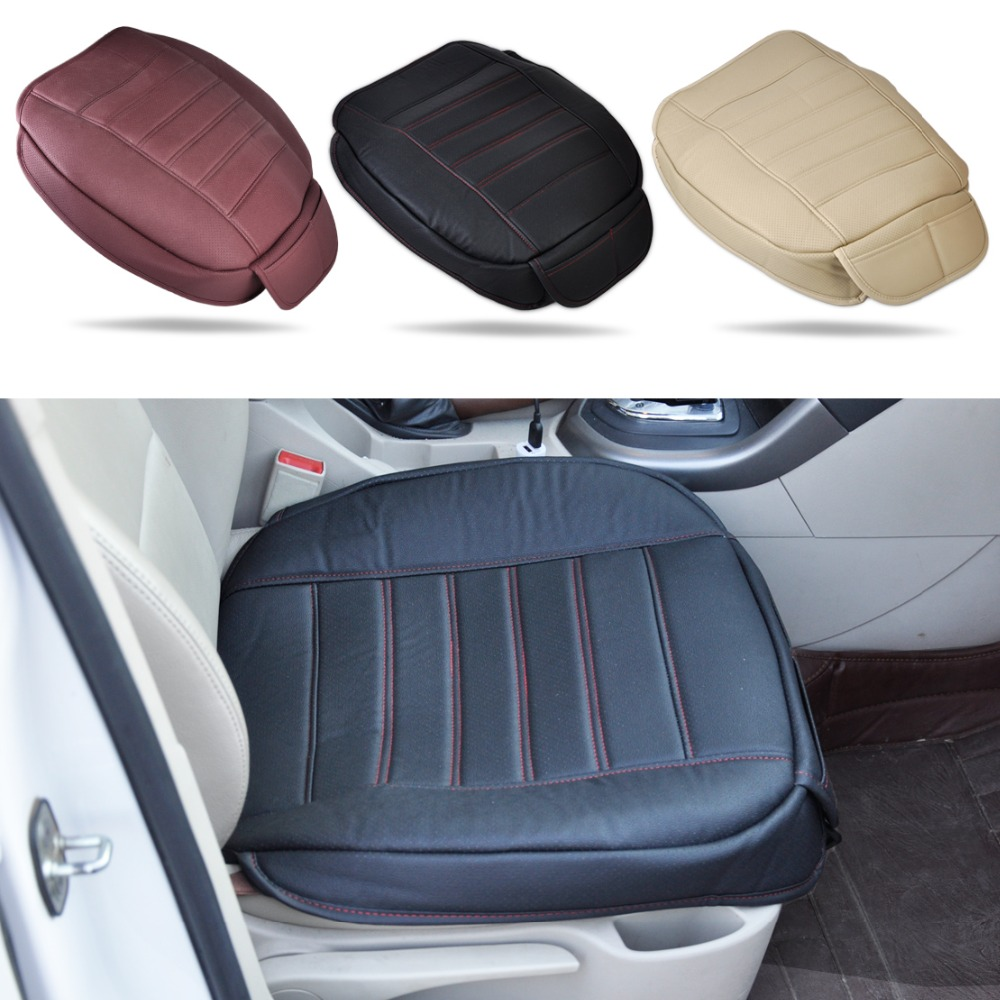 Buy Universal PU Leather Car Interior Front Seat Cover