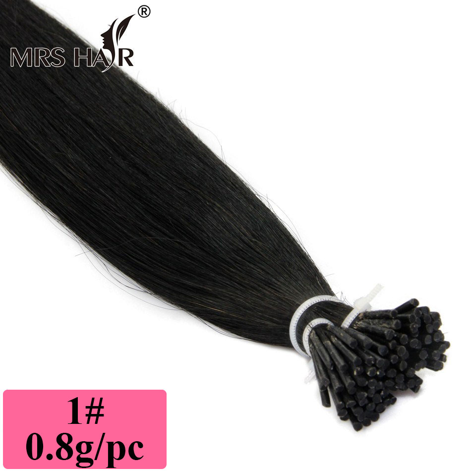 0.8g/pc, 1# black colour, stick remy hair, 10 12 14 16 18 20 22 24 26 28 30, Pre-bonded I tip hair, free shipping !<br><br>Aliexpress