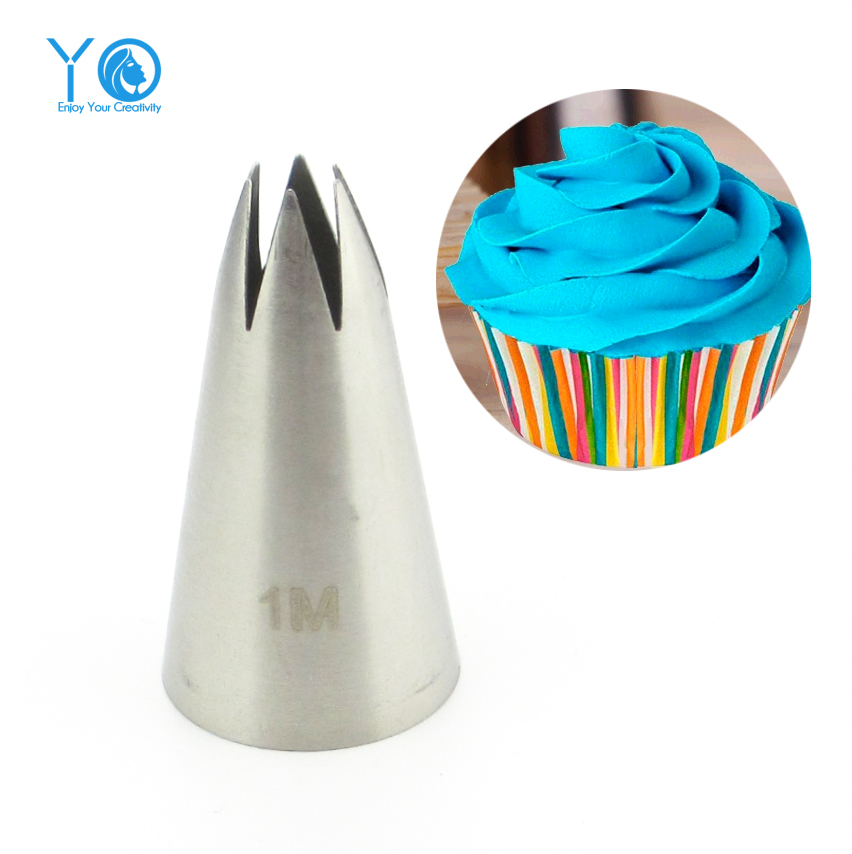 buy 2110 1m nozzle cake decorating tips stainless steel writing tube