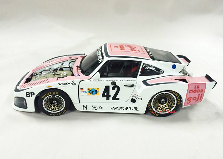 Limited Car Styling Colecionaveis 1:18 Die cast Model Car Brinquedos For 1980 K3#42 LeMans Alloy Scale Model Toy Gift Collection(China (Mainland))