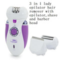 3 in 1 electric lady epilator with shave clipper women s shaving grooming kits body facial