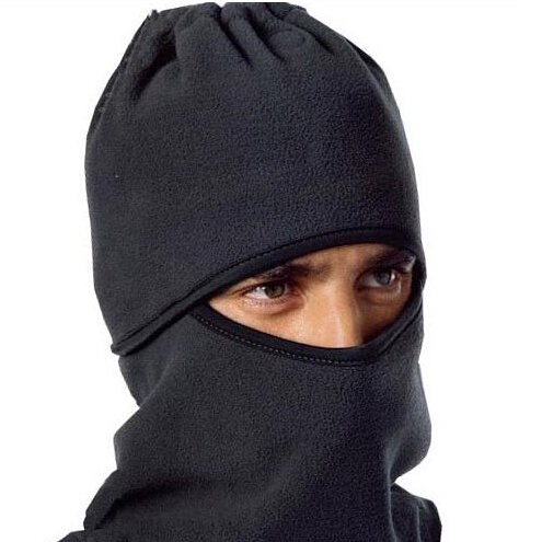 Men's hat Full Neck Winter keep warm Soft Thicken Windproof cap Velvet scarf face mask Outdoor Cycling running skiing - Toplife Co.,Ltd. store