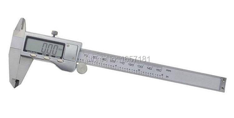 150 mm 6 inch Digital CALIPER VERNIER GAUGE MICROMETER Vernier caliper - toolnet store