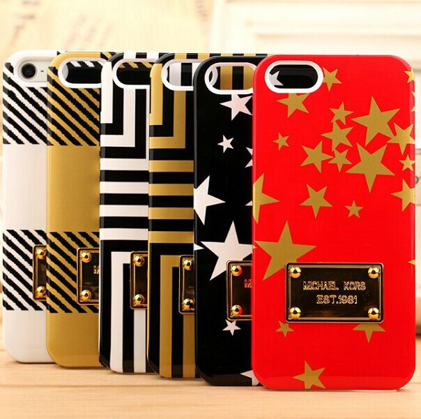 Gold Logo Brand Luxury Fashion Hard Plastic Cover Case iphone 4 4S 4G Phone Cases mix design - Shenzhen Wei Jia Xing Electronic Co., Ltd. store