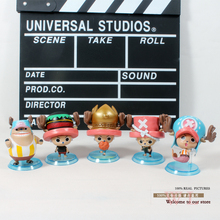 Free Shipping Japanese Anime Cartoon One Piece Tony Tony Chopper 2 Years Later PVC Action Figures Toys 5pcs/set OPFG098