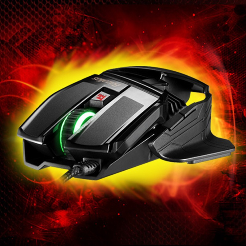 Quiet Stock Ghost axe X1 stunning six key light corded Gaming Mouse Optical mouse high-precision F-S031 - Field China Technology Co., Limited store