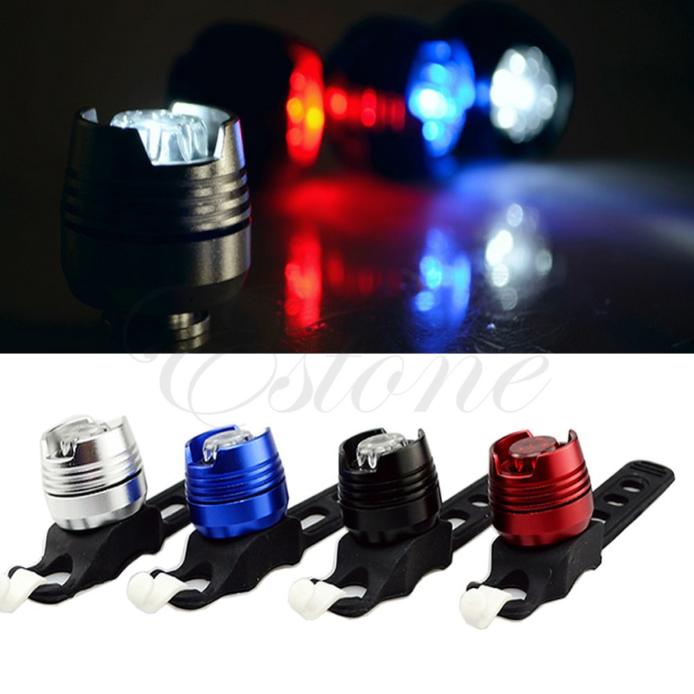 HOT! Bicycle Lights Cycling Front Rear Bike Taillight Helmet Flash Light Safety Warning Lamp 5 Colors - Niner Store store