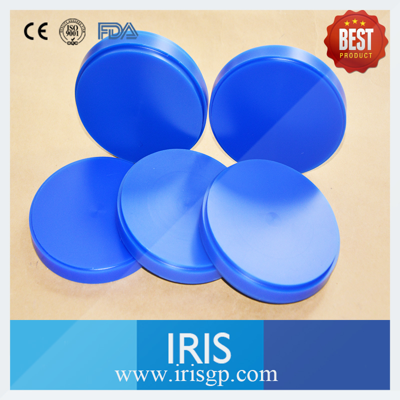5 Pieces/lot 98 *12mm Dental Wax Disc Block Dental Blue Wax Blanks For Wieland CAD/CAM Milling System High Quality(China (Mainland))