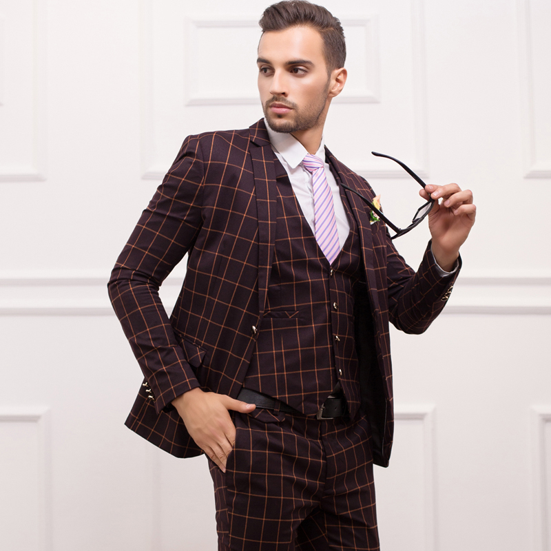 2015 New Spring Fashion Suits Men 39 S British Style Slim