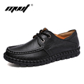 Top quality genuine leather women Oxfords shoes Classic fashion work shoes woman Zapatos mujer Women flats
