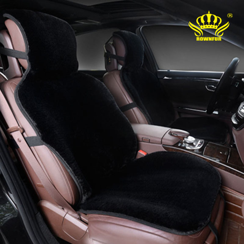 1pcs For One Front car seat covers faux fur cute car interior accessories cushion styling winter new plush car pad seat cover(China (Mainland))