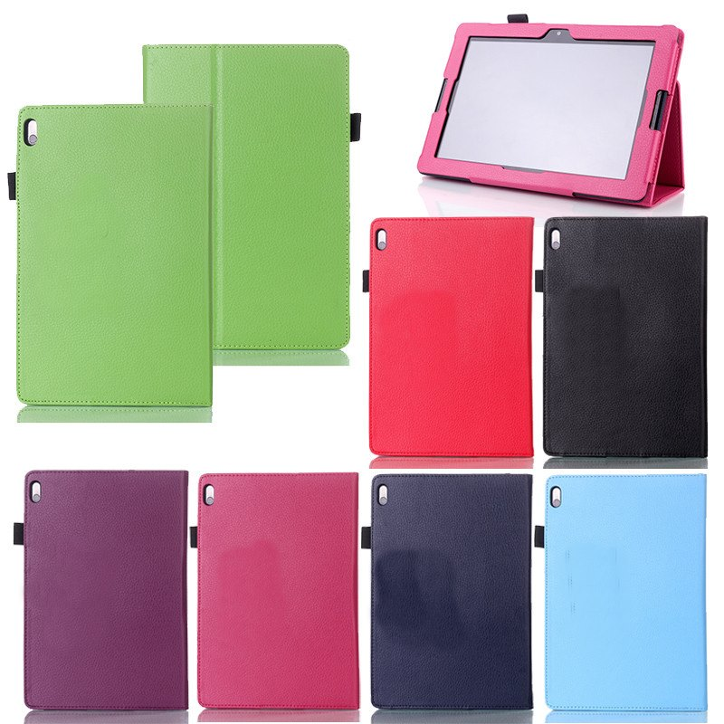 """10.1"""" For Lenovo A7600 Tablet PC PU Leather Case Stand Cover+Stylus Cheap Sale With 7 Colors(China (Mainland))"""