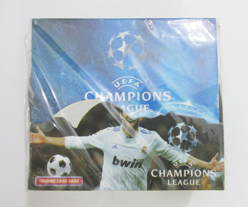 288pcs/set Euro Champions League Shiny Trading Cards Football Stars RPS English Math Number Toy Trading Card Soccer Clubs Game(China (Mainland))