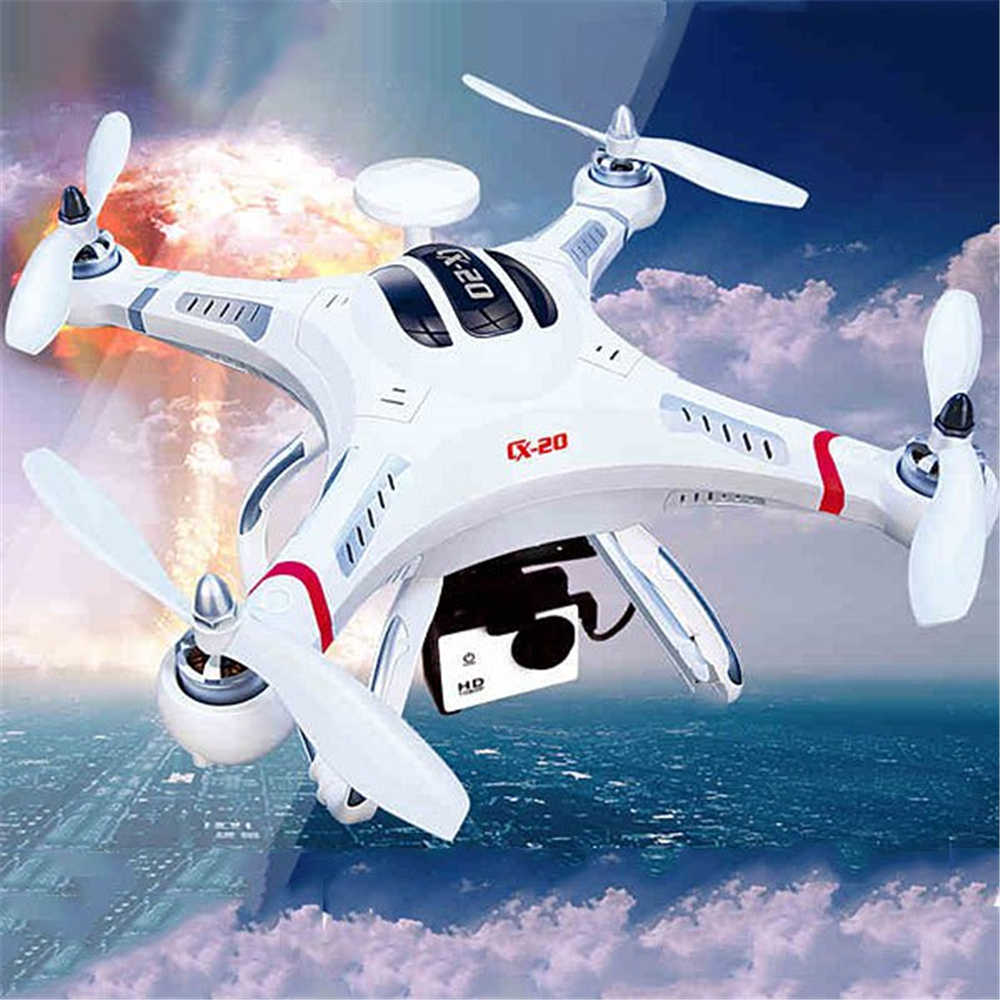 Cheerson CX-20 CX20 CX 20 EU Plug Open Source Pathfinder GPS HD Camera Mounting Functions 2.4G Professional RC Quadcopter<br><br>Aliexpress