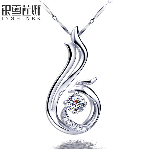 Silver 925 pure silver ask any girl necklace female short design accessories necklace female pure silver(China (Mainland))