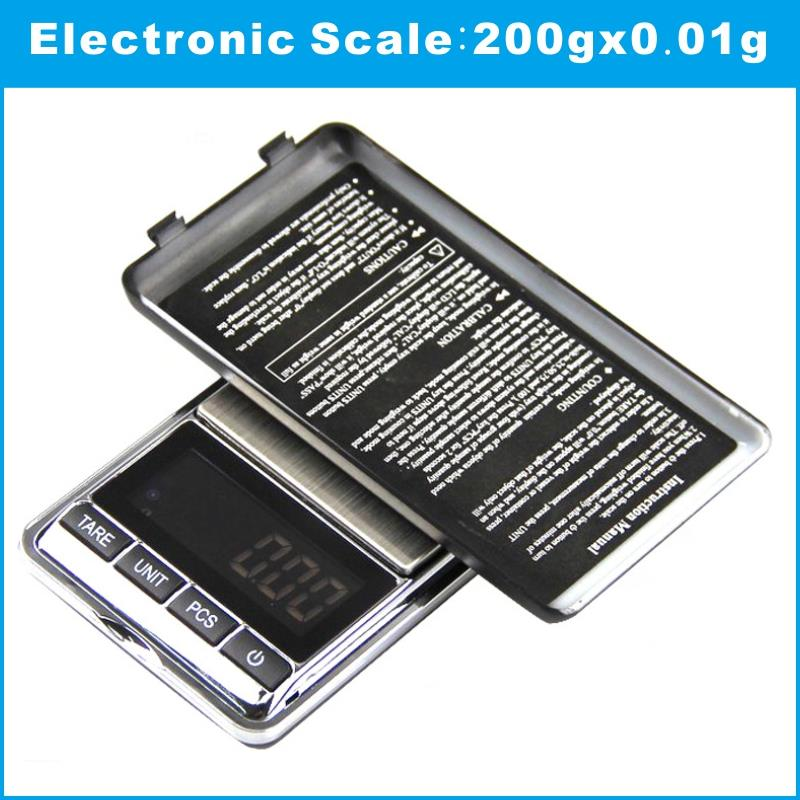 200g x 0.01g Small precision digital scale for gold bijoux sterling silver diamond scale jewelry 0.01 pocket electronic scales<br><br>Aliexpress