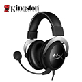 Kingston HyperX Cloud Silver Gaming Headphone with Microphone Volume Control Headset 3.5mm Plug Steelseries Auriculares