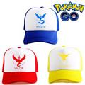 Pokemon Go ash ketchum trainer Cap Hat Team Valor Team Mystic Team Instinct Pokemon Cap Pokemon