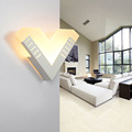 Simple design Acrylic LED Wall Light Modern Artistic White Wall lamp Fashion Indoor Decor for parlor