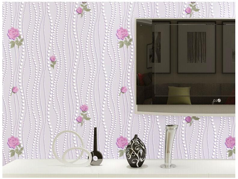 3d Wallpaper Roll Home Decor Floral Photo Murals Wall