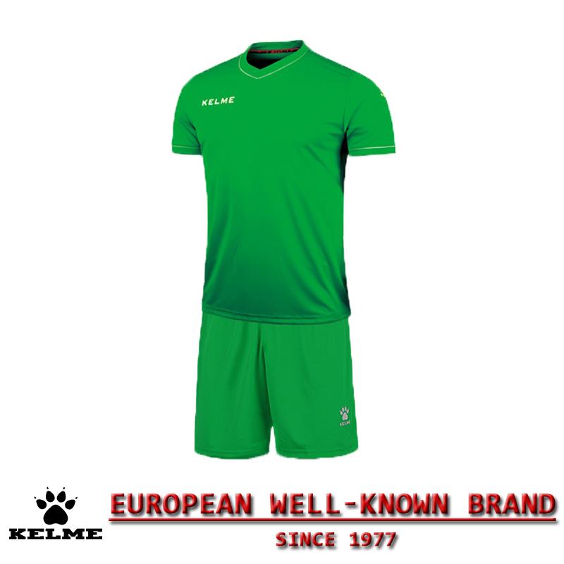 KELME Official Mens Soccer Jerseys Soccer Training Suits Paintless Football Jerseys Custom Football Kits Uniforms Soccer Set 43(China (Mainland))