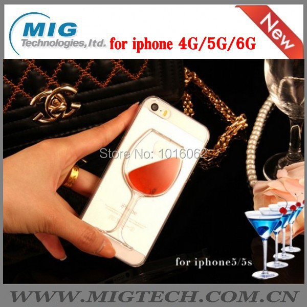 30 TPU Red wine style case Phone apple iphone 6 plus - MIG Technology store
