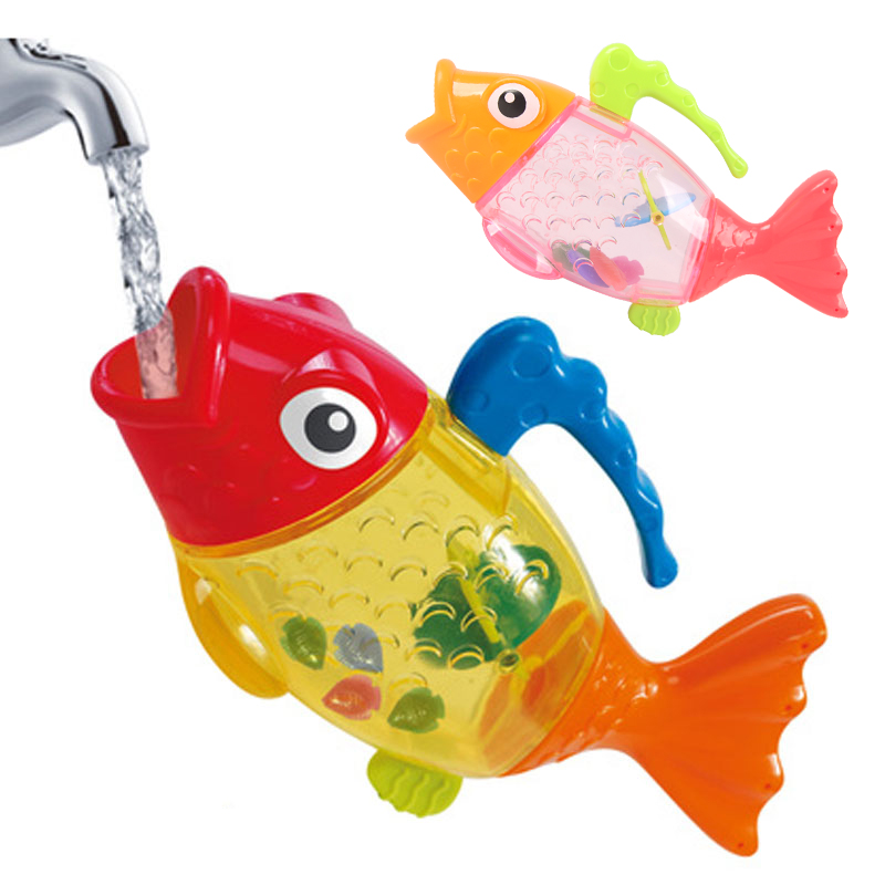 Bath Toys For Boys : Pc bath toys in the bathroom fish water for boys