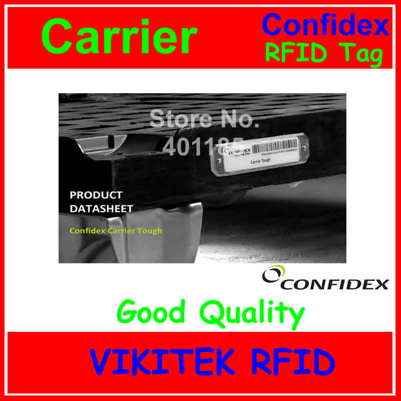 UHF RFID tag Confidex carrier Tough 860-960MHZ 915M EPC C1G2 ISO18000-6C thin tag for tracking various plastic containers<br><br>Aliexpress