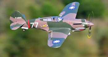 FMS 980mm P-40B Flying Tiger PNP and KIT,P40,P 40B RC model,radio control model