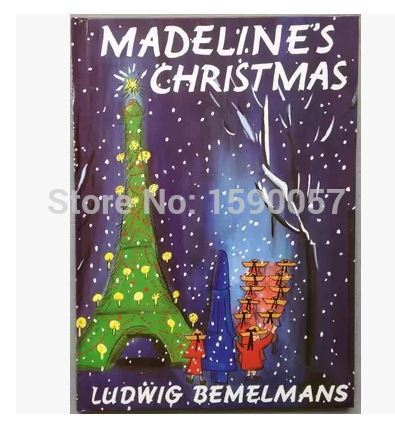 Free shipping 2015 New Hot Saler Madeleines Christmas hardcover childrens books in English  famous picture books baby<br><br>Aliexpress