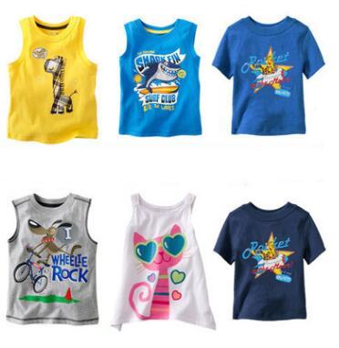 Clearance Girl t-shirt big Girls tees shirts children blouse super quality kids summer clothes rabbit designer cotton on sale(China (Mainland))