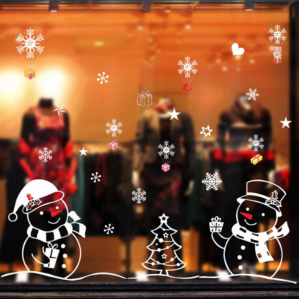 Buy christmas snowman removable home for Vinyl window designs ltd complaints