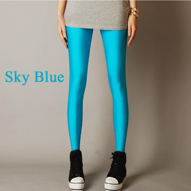 2015 женщины дешевую одежду конфеты цвет спортивные леггинсы фитнес-беговая брюки ...