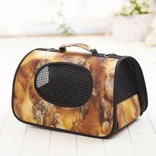 Soft Portable Puppy Dog Bag Cat Carrier Handbag Pet House Kennel Dog Cage Travel Carry Bag Pet Carrier Waterproof(China (Mainland))