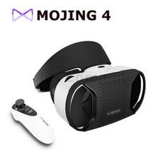 Baofeng Mojing III плюс 3D VR очки виртуальной реальности шлем Google картон голова + Bluetooth пульт дистанционного управления 2 шт. объектив бесплатная DHL