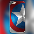 Captain America For marvel Design transparent case cover cell mobile phone cases for iphone 4 4s