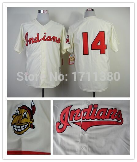 14-Larry-Doby-jersey-Stitched-Cleveland-Indians-wholesale ...