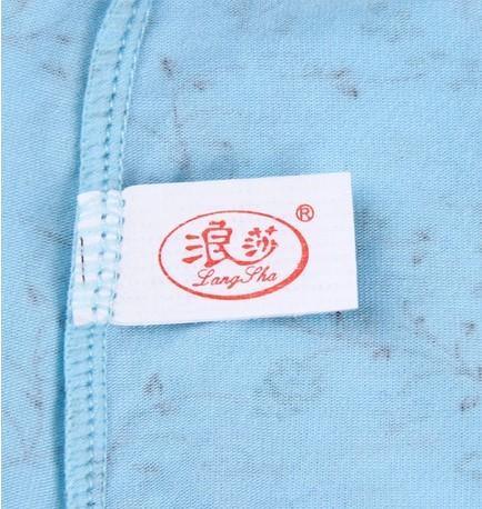 Free shipping langsha Grade cotton bamboo fiber underwear sexy Lace cotton shorts women's panties Healthy cotton Relax