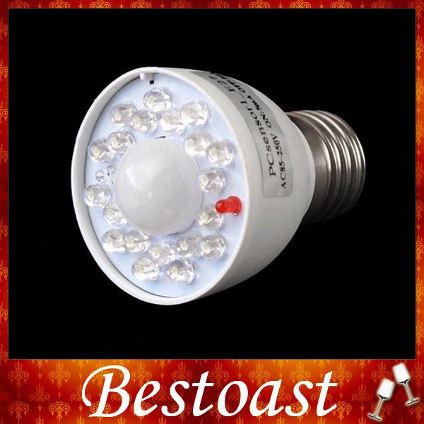 E27 AC85-250V LED Human Sensor Lamp White Light Bulb Energy Saving Lighting - Shenzhen Bestoast Technology Co., Ltd. store