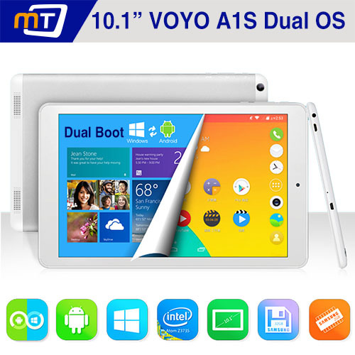 VOYO Winpad A1S Dual Boot Tablet PC Android 4.4 & Windows 8.1 Intel Quad Core 10.1 Inch 1280X800 IPS Screen 2GB 32GB HDMI BT4.0 - Shenzhen Mechanician Electrics Technology Co., Ltd. store