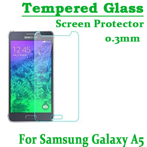0.3mm Ultra Thin Arc edge HD Clear Tempered Glass Screen Protector Front Film Samsung Galaxy A5/A500F - USBONLINEDIRECT Communication Co., Ltd. store