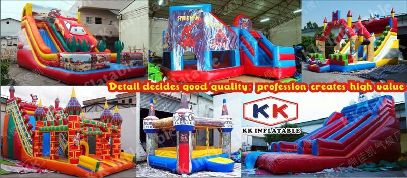 Новый робот коммерческих надувные слайд, gaint надувные слайд kkds-l012