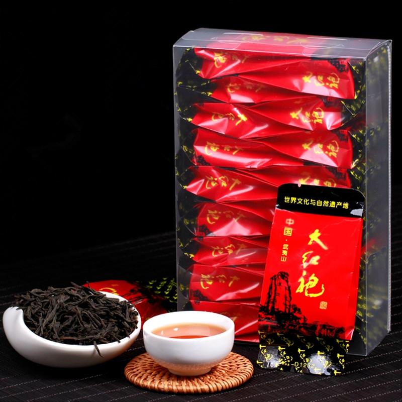 Top Grade Chinese Da Hong Pao Big Red Robe Oolong Tea, The Original Gift Tea China Healthy Care dahongpao tea Free Shipping(China (Mainland))