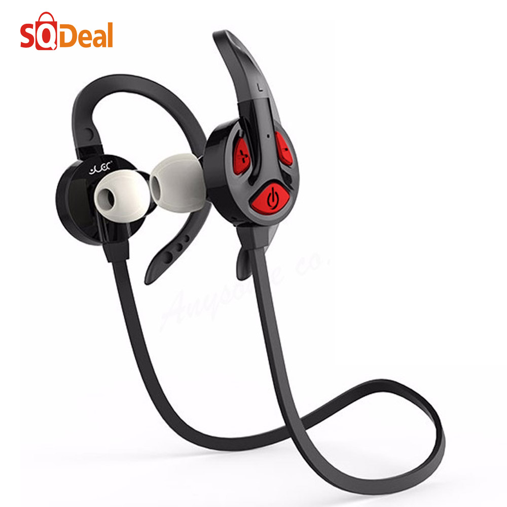 Hot Wireless Bluetooth Headphone Bluetooth V4.1 Stereo Sports Running Earphone Handsfree Earbud With Microphone For Smartphone(China (Mainland))