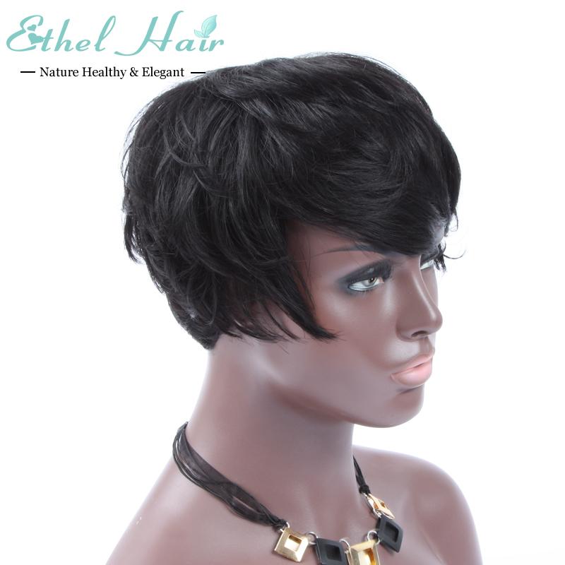 Top 7A Full lace human hair wigs for black women Glueless full lace wigs Brazilian virgin hair wavy human hair lace front wigs<br><br>Aliexpress