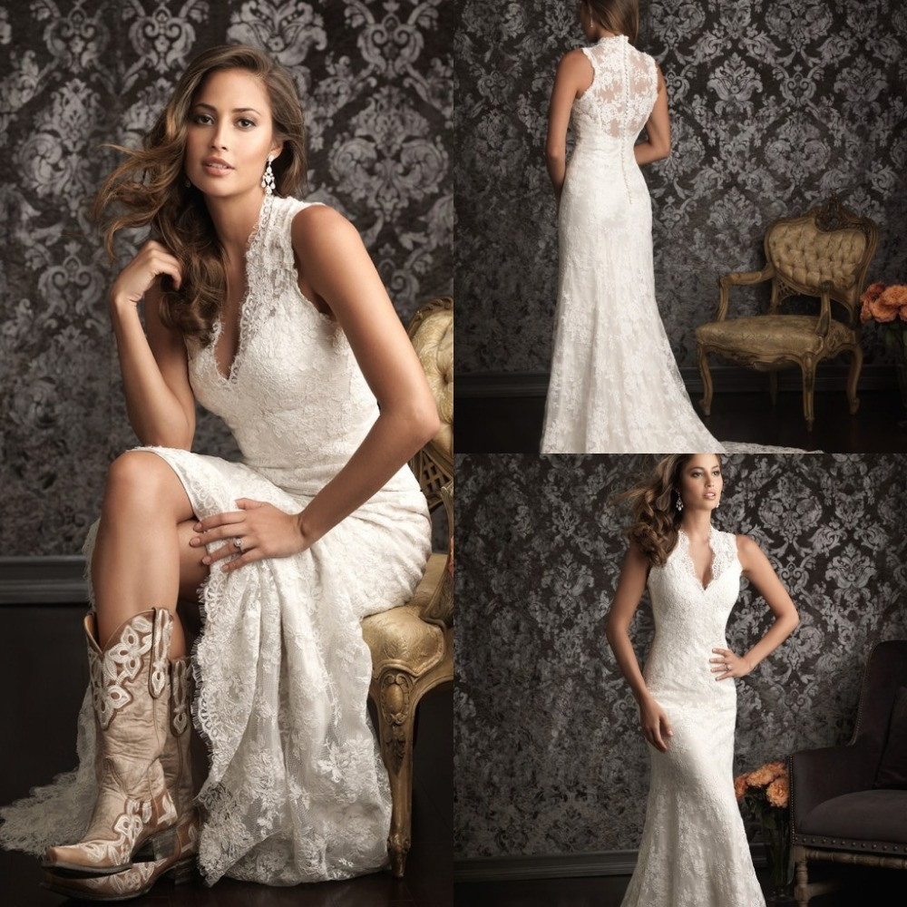 2015 spanish lace wedding dresses country western vestidos for Spanish wedding dresses lace